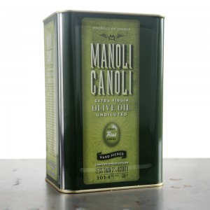 Extra Virgin Olive Oil 3 Lt - MANOLI CANOLI