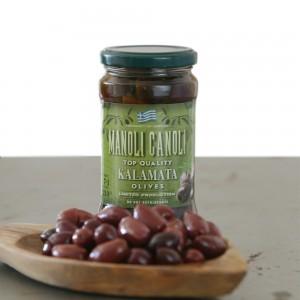Olives Kalamata Koroneiki 8 Jars Pack - MANOLI CANOLI