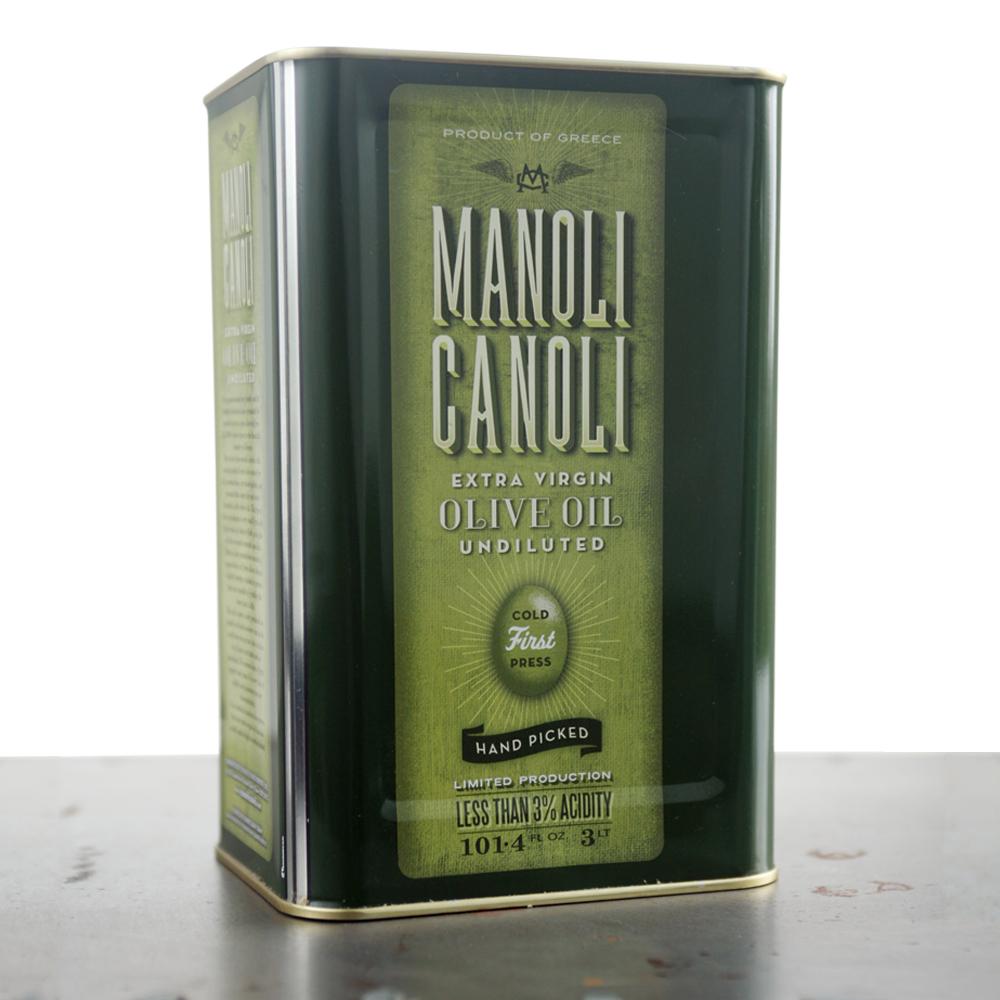 Extra Virgin Olive Oil 3 Lt - MANOLI CANOLI